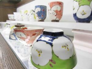 しのえい陶磁器のご飯茶わん&ゆのみコーナー5