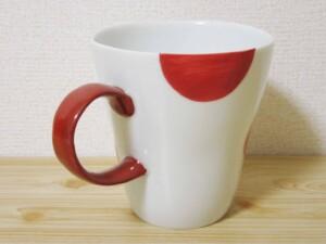 二色丸紋(赤)2
