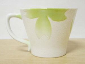 桜ラスター(緑) MコーヒーC/S8