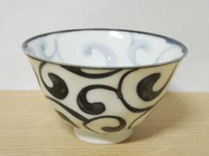 ペルシャ紋(大) ご飯茶わん1