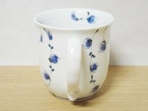 唐草紋(青) マグカップ8