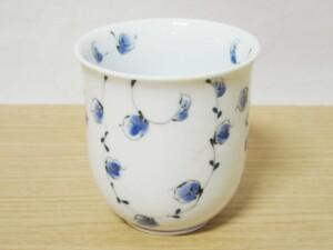 唐草紋(青) マグカップ9