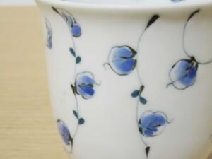 唐草紋(青) マグカップ11