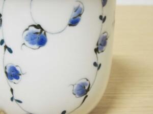 唐草紋(青) マグカップ12