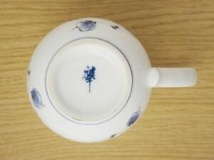 唐草紋(青) マグカップ4