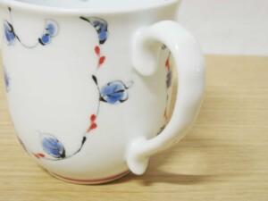 唐草紋(赤) マグカップ6
