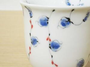 唐草紋(赤) マグカップ10