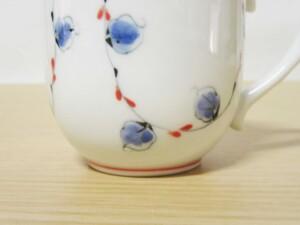 唐草紋(赤) マグカップ11