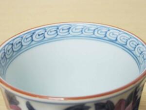 染錦鉄線花(紫) マグカップ11