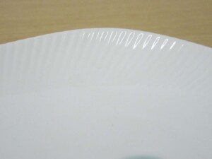 かけわけ 波小皿(白)6