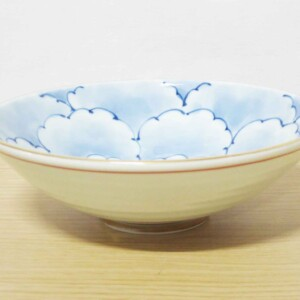 八重牡丹平小鉢