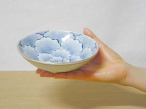八重牡丹平小鉢 サイズ