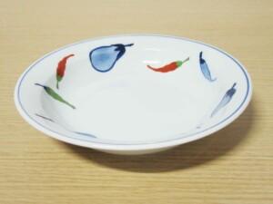 錦なすこしょう スープ皿1