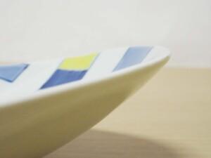 色絵升 楕円大鉢8