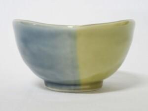 青藍釉掛分 片口小鉢6