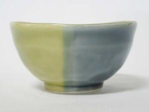 青藍釉掛分 片口小鉢7