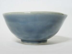 青藍釉掛分 片口小鉢8