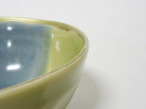 青藍釉掛分 片口小鉢9