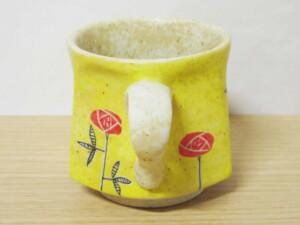 黄濃赤バラ 六角コーヒーC/S8