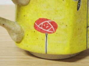 黄濃赤バラ 六角コーヒーC/S13