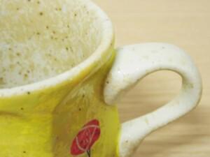 黄濃赤バラ 六角コーヒーC/S115