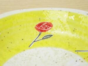 黄濃赤バラ 六角コーヒーC/S19