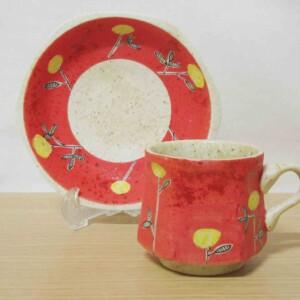 メルヘン(赤) 六角コーヒーC/S